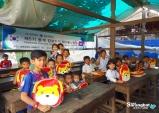 [캄보디아] 코미디언 권미진, 대학 봉사단과 캄보디아 봉사활동