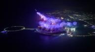 [UAE] 라스 알 카이마 2019 신년 전야 불꽃축제, 알 마르잔 섬 따라 13킬로미터 불꽃 향연