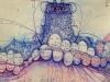 """3.1절 기념 """"나랏님 손"""" 김미경 영매화 개인전...경복궁역 메트로미술관 1관"""