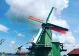 [최치선의 포토에세이] 네덜란드...잔세스칸스, 풍차가 있는 마을