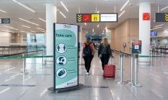 [벨기에] 브뤼셀공항...스카이홀, 백신 접종센터로 제공