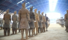 [중국]서안...진시황 병마용, 진시황릉 보물이 세상과 만나다